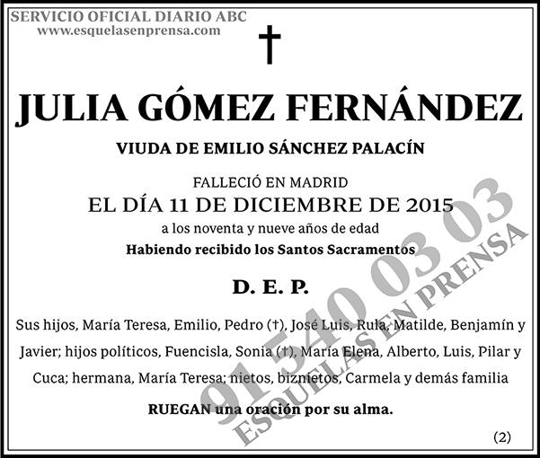 Julia Gómez Fernández
